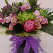 Pastel Hand Tied in water